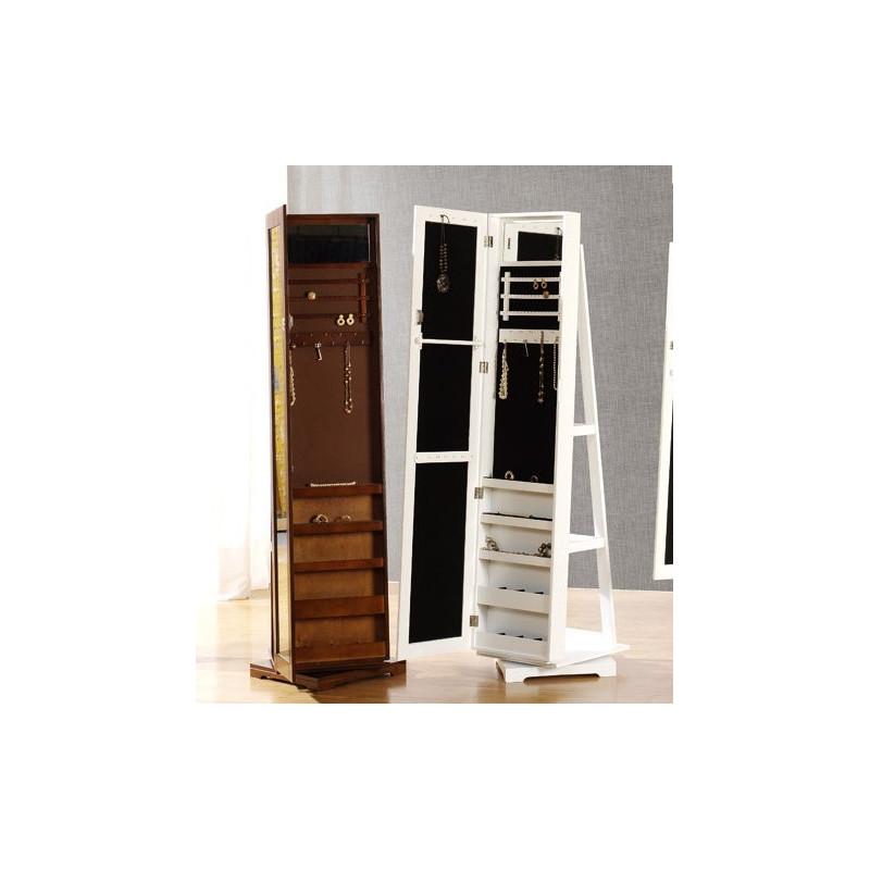 Mueble joyero espejo vestidor giratorio